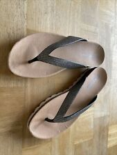 Brand new Size 6 Wedge Flipflop Krush Brand With Glitter Straps