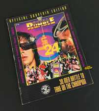 WWF Magazine Royal Rumble 1993 Wrestling Event Program with Spine Wear WWE