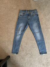 Zara Comfort Skinny Jeans Blue Size 31 Denim