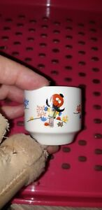 The Magic Roundabout Egg Cup 1974 / Carrigaline Pottery / Serge Danot - Rare