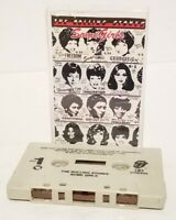 "THE ROLLING STONES SOME GIRLS ""WITHDRAWN COVER"" CASSETTE ""BEAST OF BURDEN"" B4"