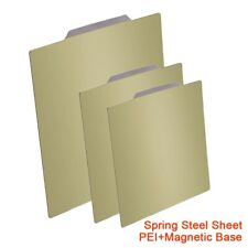 PEI Magnetic Base Removal Spring Steel Sheet Hot Bed Sticker Build Plate PLA ABS