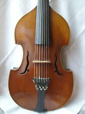 Bellos vieja viola d 'Cupido very old viola d amore Antik vintage con recuadro