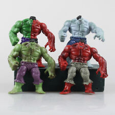 4x Hero Avengers Comic Hero The Incredible Hulk Action Figure Collection Toys