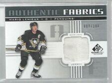 2011-12 SP Game Used Authentic Fabrics #AFML Mario Lemieux 009/100 (ref43623)