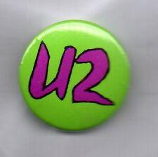 U2 BUTTON BADGE Irish Rock Band - Bono, The Edge, Achtung Baby, Joshua Tree 25mm