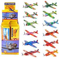 Mini Flying Gliders Foam Planes Kids Childrens Boys Loot Party Bag Filler Toys