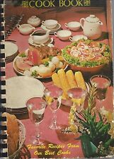*EUGENE OR 1974 *FRIENDS CHURCH *QUAKERS COOK BOOK *FAVORITE RECIPES * OREGON