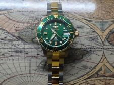 Invicta Grand Diver 20150 Limited Ed 6 Diamond Automatic Watch Gold midsize 38mm