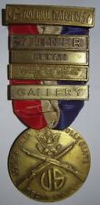 "1937 National Match - NRA Named Medal - Hawaii Bar  ""R Emory"""