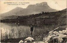 CPA   Les Marches (Savoie) - Le Lac Saint-André et Mont Gracier (1938m  (438520)