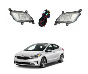 2017 2018 Kia Forte Fog Lamp For Driver And Passenger Side+accessories