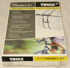 THULE - THRUWAY 2 - no 968 - 2 Bike Strap Rack Carrier Holds 2 Bikes *NEW in BOX