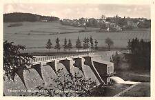 AK Talsperre Pirk bei Oelsnitz V. mit Blick nach Planschwitz Echt Foto Postkarte