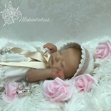 Reborn Baby Girl Americus By L.L. Eagles SOLD OUT! Very Realistic With COA