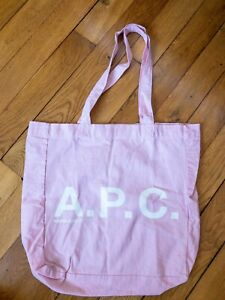 APC small  light pink tote bag