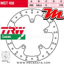 Disque de frein Avant TRW Lucas MST 458 Gilera GP 800 (M55) 2008+