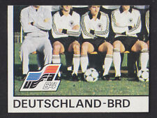 Panini - Euro 84 - # 134 Deutschland-BRD Team Group
