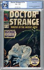 Doctor Strange #170 - Silver Age  PGX 7.5 (VF-) 'Nightmare' - Jul 1968