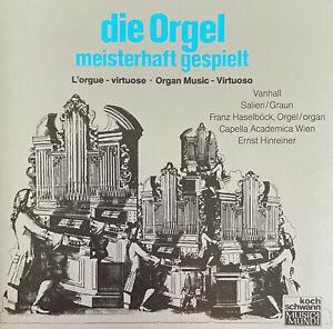 Franz Haselböck - Die Orgel - Meisterhaft Gespielt   Vanhal Salieri Graun