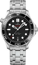 OMEGA SEAMASTER DIVER CO‑AXIAL MASTER BLACK DIAL MENS WATCH 210.30.42.20.01.001