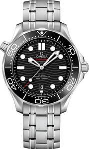Omega Seamaster Mens 300M Co-Axial Master Chornometer Watch 210.30.42.20.01.001
