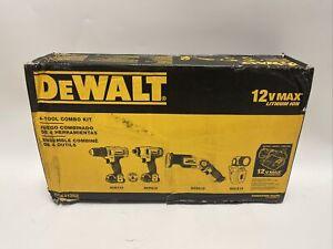 DeWalt 4-Tool Combo Kit 12V Max DCK413S2