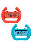 Nintendo Switch Wheel Controller Grip (Blue & Red) - US SHIPPER GET IT FAST-
