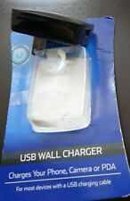 Onn Usb port Wall Charger charges your phone, camera, tablet or Pda universal
