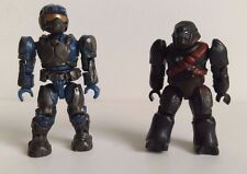 Halo Mega Bloks Figures set of 2 - UNSC MARINE and COVENANT BRUTE