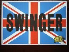POSTCARD  AUSTIN POWER - SPY WHO SHAGGED ME 1999 - SWINGER
