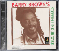 BARRY BROWN STEPPIN UP DUB WISE NEW VINYL LP £10.99