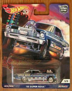 Hot Wheels Car Culture Drag Strip Demons ~'66 Super Nova~ on Real Riders