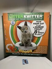 Litter Kwitter 3 Step Cat Training System Teach Kitty to Use Toilet Dvd Pls Read