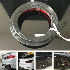 Carbon Fiber Look Car Rear Wing Lip Spoiler Tail Trunk Roof Trim Luxury Kit 1.5M