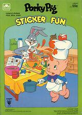 Porky Pig coloring book RARE UNUSED