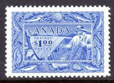 Canada Scott # 302 VF Unused 1951 $1.00 Fishing Resources