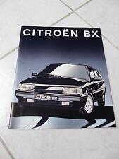 Citroen BX gamme 16s Evasion 1992 36 pages sales brochure prospekt catalogue