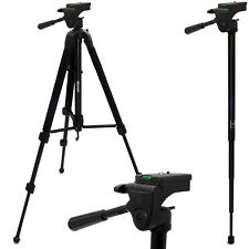 "59"" Universal Extendable 2 in 1 Combined Tripod & Monopod for Camera DLSR SLR"