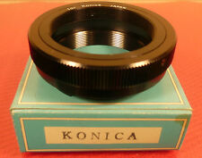 KONICA T-MOUNT BAYONET LENS ADAPTOR: NEW BOXED: MADE IN JAPAN