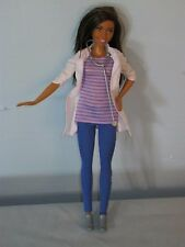 Barbie Mattel Baby Doctor Nurse Career Doll Clothes & Shoes African American