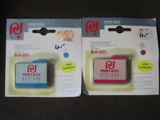 Print-Rite cartucho para Canon bji-201 - bjc-600 en cian y magenta en OVP