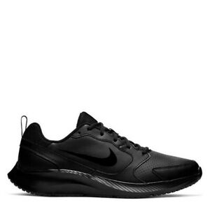 Nike Todos RN Black Genuine Trainers Casual Shoes UK stock Mens