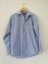 "Mens Shirt Size 14.5 "" Collar Blue Bhs <FF2341z"