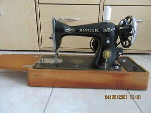 Singer15k80 Heavy Duty Electric Sewing Machine Vintage 1956