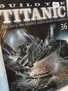 1/250 Hachette Build The Titanic Model Ship Issue 36 Inc Part Pictured.