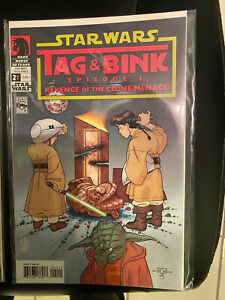 Star Wars Tag And Bink Episode 1 Revenge Of The Clone Menace By Kevin Rubio