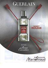 PUBLICITE  ADVERTISING 2008  GUERLAIN cosmétiques flacon blanc