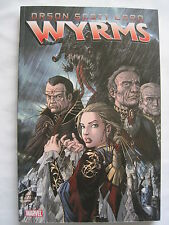 "ORSON SCOTT CARD : ""WYRMS"" GRAPHIC NOVEL by CARD, BATISTA & ISHIMURA. MARVEL"