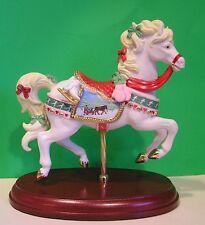 Lenox 2013 annual Christmas Carousel Figurine New Mint No Box